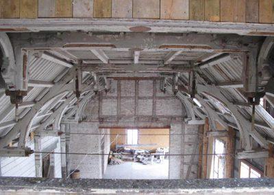 Zabytkowy strop na główną salą balową Kasyna