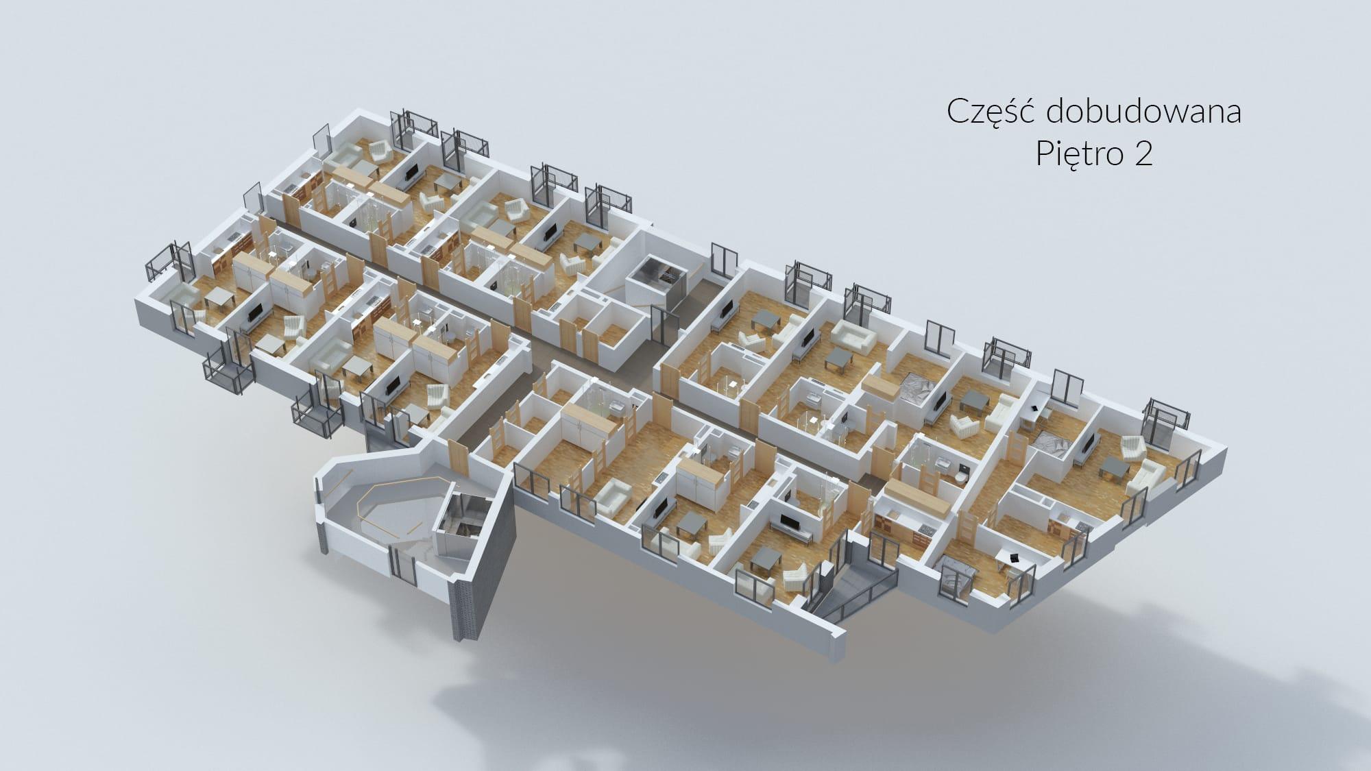Cześć dobudowana - Piętro 2